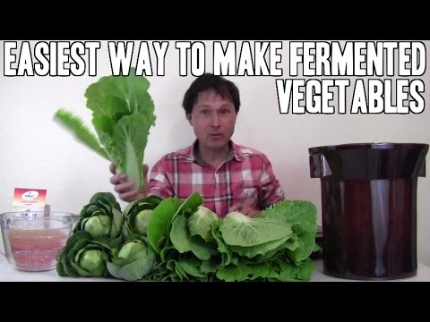 Easiest Way to Make Fermented Vegetables without Mold