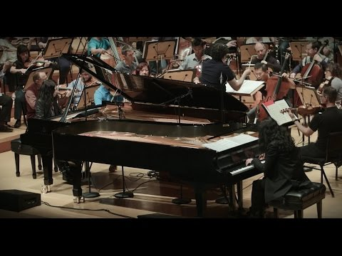 Philip Glass: Behind the Scenes of Double Concerto for Two Pianos and Orchestra