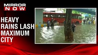 Heavy rains predicted for next 24 hours in Maharashtra & 39 Red alert& 39 sounded