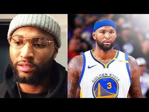 DeMarcus Cousins Reveals Why He Joined Warriors 'I Received Zero Offers From Other Teams'