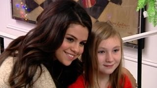 Selena Gomez Surprises Little Girl: