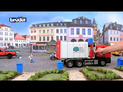 Bauernhof MAN TGS Seitenlader Müll-LKW