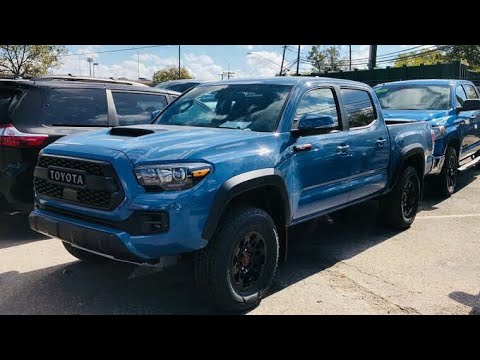 2018 Toyota Tacoma Trd Pro Walk Around New Color