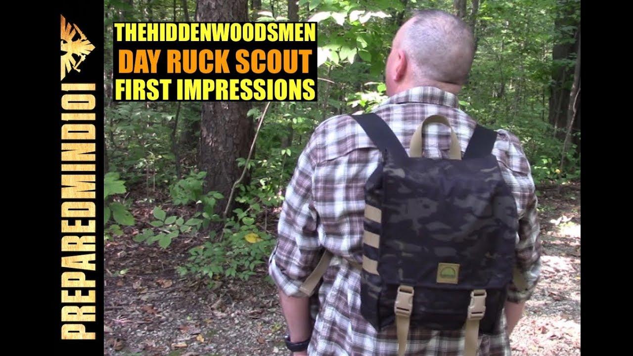 8c9a28e25b94 The Hidden Woodsmen Day Ruck Scout: First Impressions - Preparedmind101