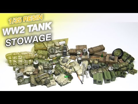 How to paint resin stowage