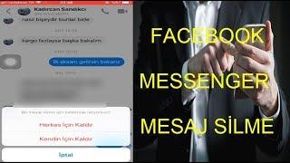 Facebook Messenger Mesaj Silme   Herkesten Sil Özelliği   screenshot 3