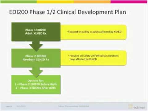 XLHED Clinical Trial Webinar