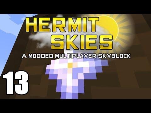 Hermit Skies 13 | Nether Star Farming! |...