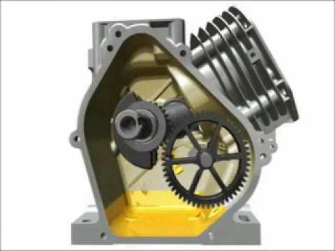 Briggs  Stratton How a Single Cylinder Engines Work - YouTube