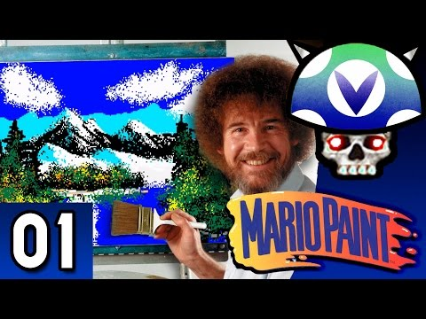 [Vinesauce] Joel - Bob Ross Mario Paint ( Part 1 )