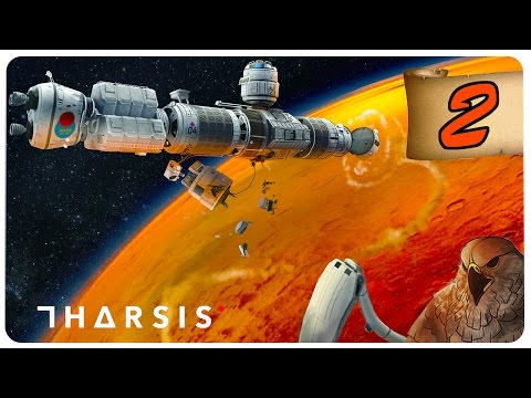 THARSIS  #2  How to cook 4 humans  Lets Play Tharsis Tharsis Gameplay