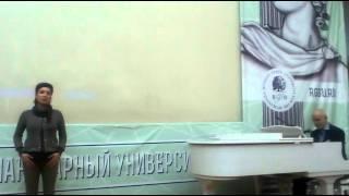 Певица Зара поет песни БимБаскет (Автор - профессор М. Лазарев)