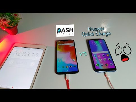 Dash Charge Vs Huawei Quick Charge /which One Is The Fastest