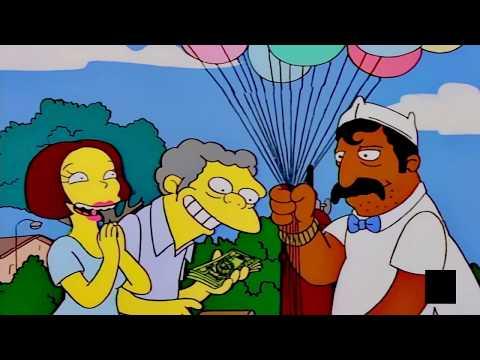Ángel para tu soledad los redondos - Los Simpsons