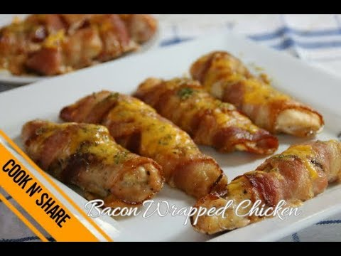 Bacon Wrapped Chicken With Cheese