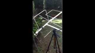 Antena IO dual band con Rhcp para satelites de radioaficion