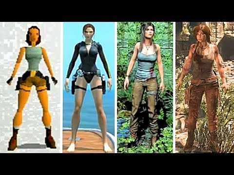 Tomb Raider Evolution of Lara Croft (1996-2017) 4k Ultra HD 2160p