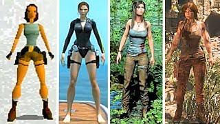 Tomb Raider Evolution of Lara Croft 1996-2015 (Tomb Raider to The Rise of the Tomb Raider)