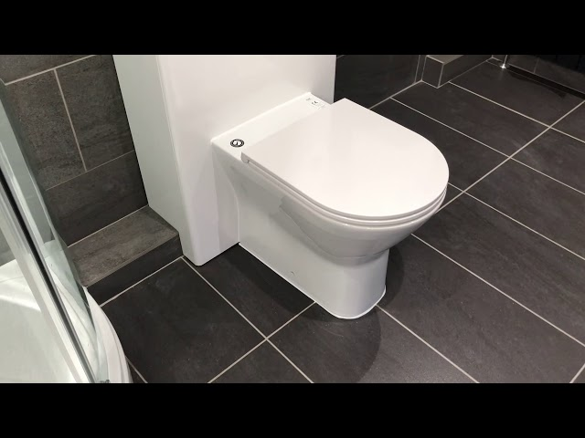 Large bathroom with freestanding bath