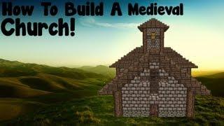 church minecraft medieval build project tutorial diamonds
