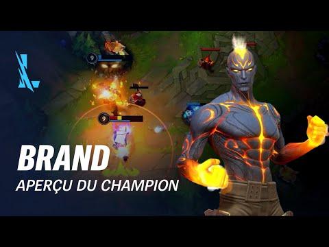 Aperçu de Brand | Gameplay - League of Legends: Wild Rift