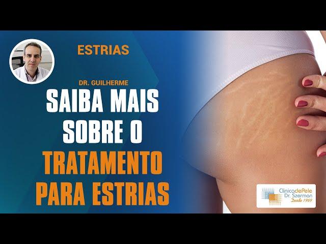 Tratamento para estrias | Vídeo Explicativo:Dr. Szerman  | Peeling, Laser & Carboxiterapia