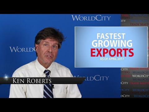 Trade Matters: Fastest Growing Exports