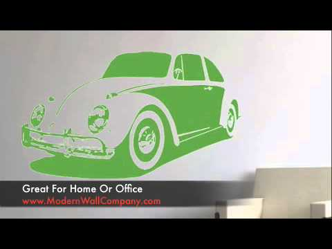 Large Vinyl Wall Decals Cars and Motorcycles