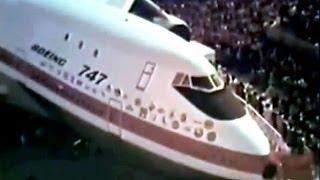Boeing 747 Jumbo Jet Promo Film #1 - 1969