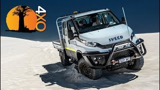 IVECO DAILY 4X4 REVIEW Versus Toyota Land Cruiser 79 DC