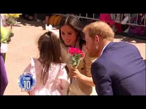 Prince Harry & Meghan Greet Crowds At Sydney Opera House | Studio 10