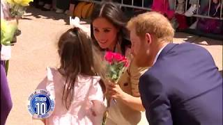 Prince Harry & Meghan Markle Greet Crowds At Sydney Opera House | Studio 10