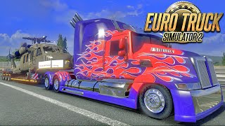 Transportando Carga Pesada - Euro Truck Simulator 2