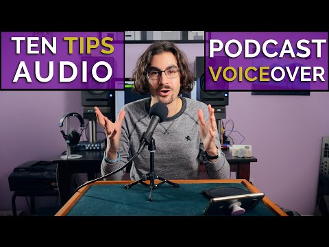 Better Podcast & Voiceover Audio At Home | TUTORIAL