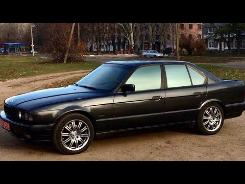 BMW е34 540i.ПЕРЕТЯЖКА СИДЕНИЙ НА