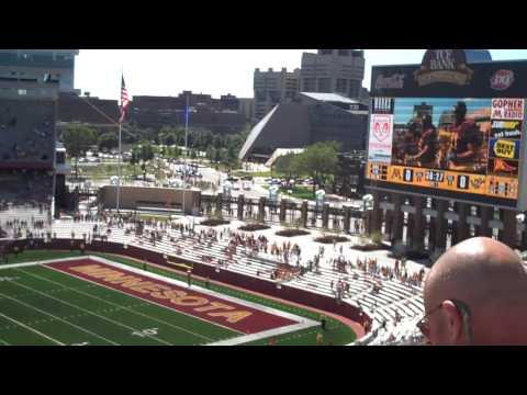 The View from Our Seats at TCF Stadium