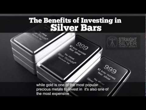 Silver Bars: The Benefits of Investing