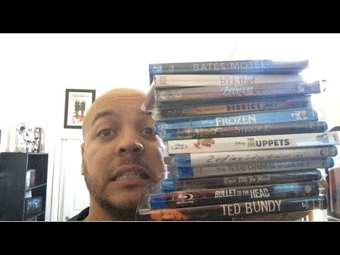 Weekly watched Blu Ray DVD Netflix Serial Killer movies