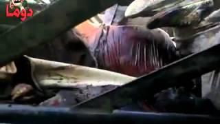 دوما 2 7 2012 أكوام من الجثث free syria  YouTube