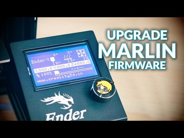 Easily upgrade the Marlin firmware on your kit 3D printer