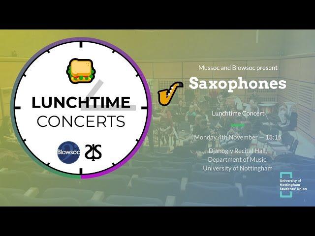 🎷 Saxophones LTC (Autumn 2019)
