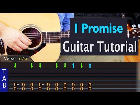 Radiohead - I Promise - Guitar Lesson
