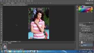 Adobe Photoshop CS6/CC - Tutorial remover e trocar fundo da imagem 2015/2016