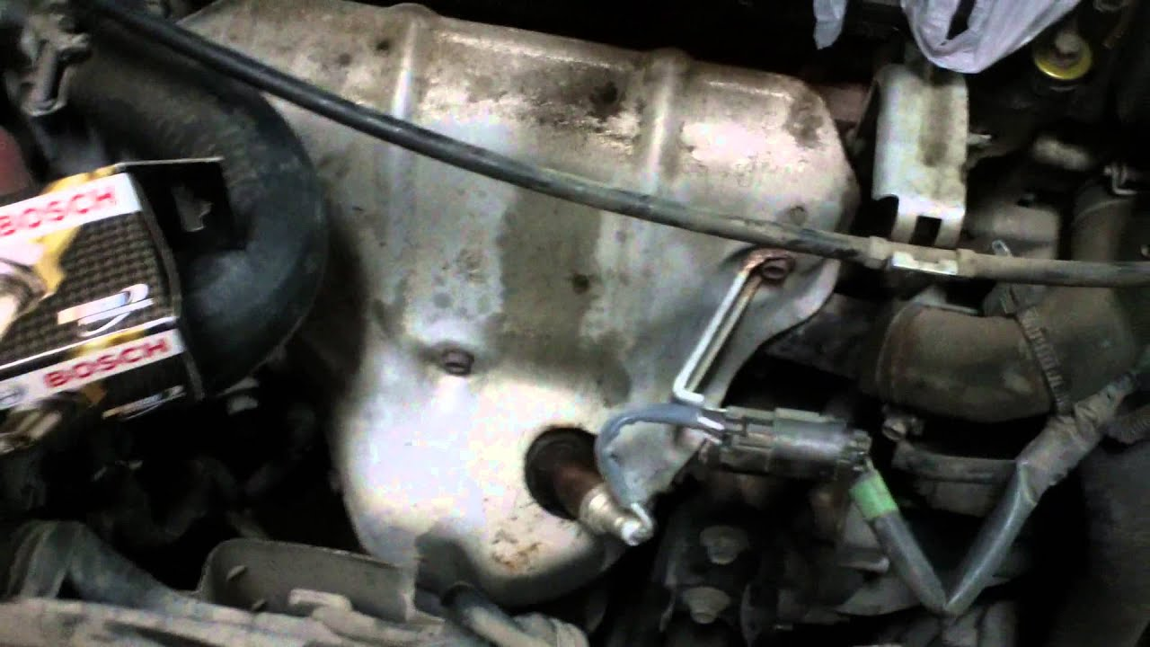 Oxygen Sensor Replacement On A Nissan Youtube O2 Wiring Diagram 2000 Quest