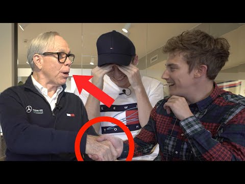We meet THE REAL Tommy Hilfiger!?! (.....JOLLY HILFIGER!!!)
