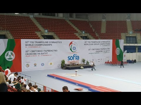 2017 FIG Trampoline World Age Group Competitions day 2 part 3