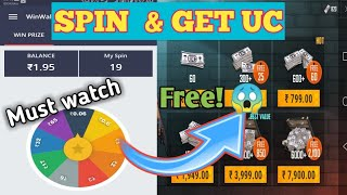 Spin To Win App Referral Code