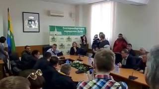 Евгений Ройзман встретился с дальнобойщиками (13.04.2017)