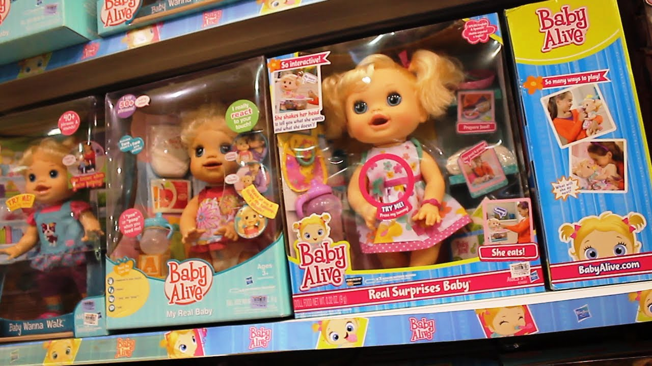 Baby Alive Dolls Sweetums Fisher Price Little Mommy
