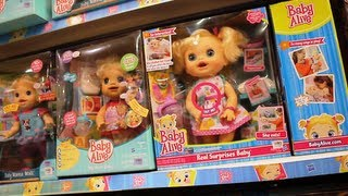 Baby Alive Dolls, Sweetums Fisher-Price, Little Mommy, Pinypon, Little Pony